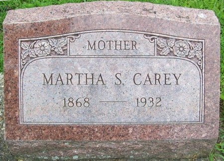 CAREY, MARTHA S. - Franklin County, Missouri | MARTHA S. CAREY - Missouri Gravestone Photos
