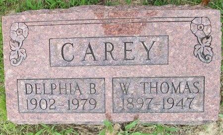 CAREY, W. THOMAS - Franklin County, Missouri | W. THOMAS CAREY - Missouri Gravestone Photos