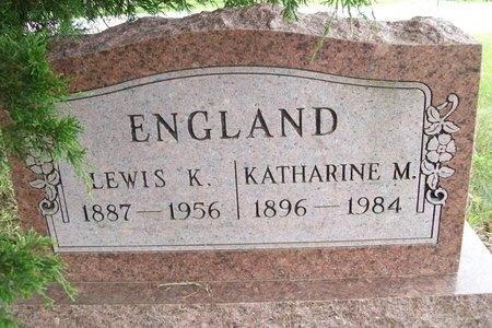 ENGLAND, KATHARINE M. - Franklin County, Missouri | KATHARINE M. ENGLAND - Missouri Gravestone Photos
