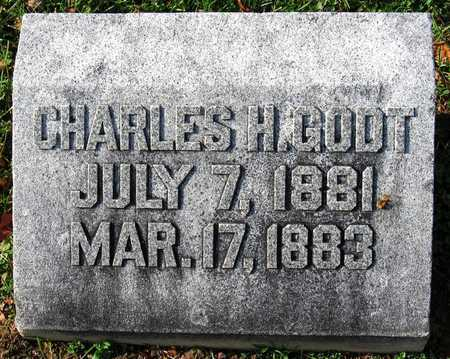 "GODT, CHARLES H. ""CARL"" - Franklin County, Missouri   CHARLES H. ""CARL"" GODT - Missouri Gravestone Photos"