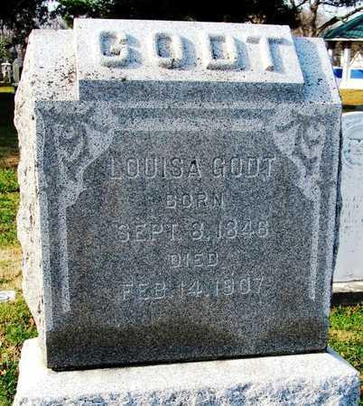 GODT, LOUISE - Franklin County, Missouri   LOUISE GODT - Missouri Gravestone Photos