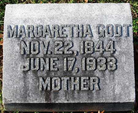 GODT, MARGARETHA - Franklin County, Missouri | MARGARETHA GODT - Missouri Gravestone Photos
