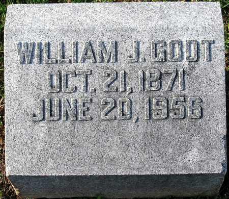 GODT, WILLIAM J - Franklin County, Missouri | WILLIAM J GODT - Missouri Gravestone Photos