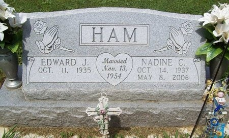 HAM, NADINE C. - Franklin County, Missouri | NADINE C. HAM - Missouri Gravestone Photos