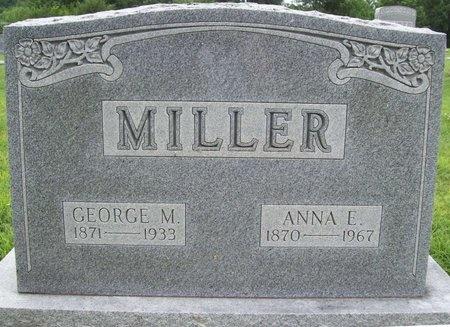 MILLER, GEORGE M. - Franklin County, Missouri | GEORGE M. MILLER - Missouri Gravestone Photos