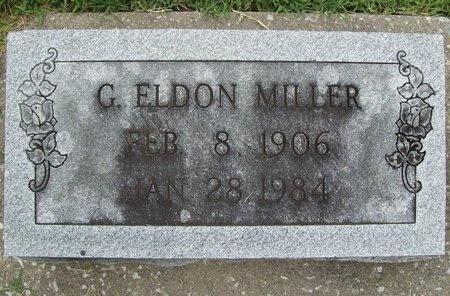 MILLER, GEORGE ELDON - Franklin County, Missouri | GEORGE ELDON MILLER - Missouri Gravestone Photos