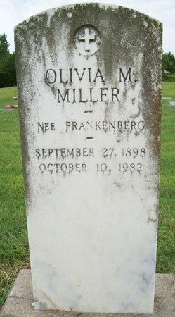 MILLER, OLIVIA M. - Franklin County, Missouri | OLIVIA M. MILLER - Missouri Gravestone Photos
