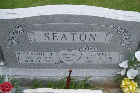 SEATON, JEWELL - Franklin County, Missouri | JEWELL SEATON - Missouri Gravestone Photos