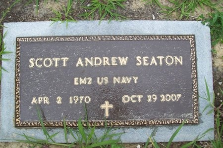 SEATON, SCOTT ANDREW (VETERAN) - Franklin County, Missouri | SCOTT ANDREW (VETERAN) SEATON - Missouri Gravestone Photos
