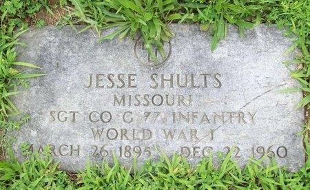SHULTS, JESSE E (VETERAN WWI) - Franklin County, Missouri | JESSE E (VETERAN WWI) SHULTS - Missouri Gravestone Photos