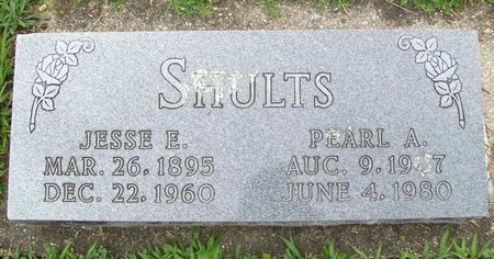 SHULTS, JESSE E. - Franklin County, Missouri | JESSE E. SHULTS - Missouri Gravestone Photos