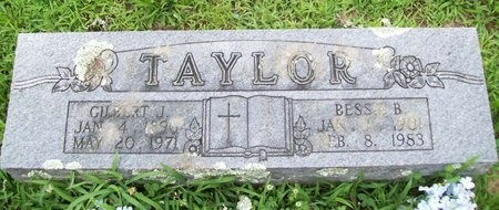 TAYLOR, GILBERT J. - Franklin County, Missouri | GILBERT J. TAYLOR - Missouri Gravestone Photos