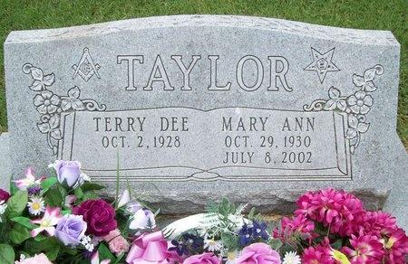 TAYLOR, MARY ANN - Franklin County, Missouri | MARY ANN TAYLOR - Missouri Gravestone Photos