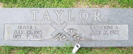 TAYLOR, OLIVER L. - Franklin County, Missouri   OLIVER L. TAYLOR - Missouri Gravestone Photos