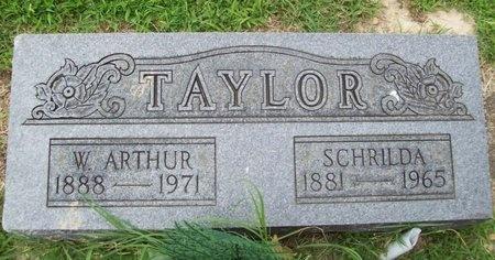 TAYLOR, SCHRILDA - Franklin County, Missouri | SCHRILDA TAYLOR - Missouri Gravestone Photos