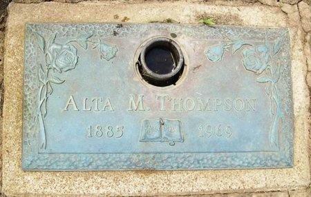 THOMPSON, ALTA M. - Franklin County, Missouri | ALTA M. THOMPSON - Missouri Gravestone Photos