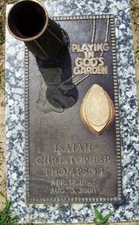 THOMPSON, ISAIAH CHRISTOPHER - Franklin County, Missouri | ISAIAH CHRISTOPHER THOMPSON - Missouri Gravestone Photos