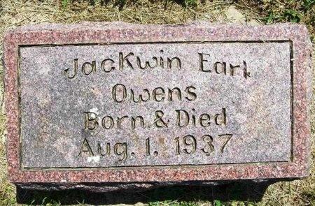 OWENS, JACKWIN EARL - Gasconade County, Missouri | JACKWIN EARL OWENS - Missouri Gravestone Photos