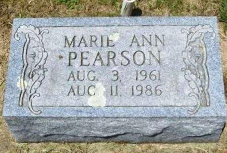 PEARSON, MARIE ANN - Gasconade County, Missouri | MARIE ANN PEARSON - Missouri Gravestone Photos