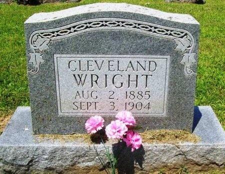 WRIGHT, CLEVELAND - Gasconade County, Missouri | CLEVELAND WRIGHT - Missouri Gravestone Photos