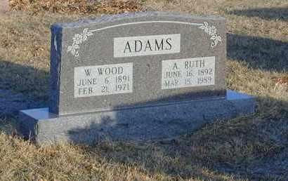 "JONES ADAMS, ARDITH ""RUTH"" - Gentry County, Missouri | ARDITH ""RUTH"" JONES ADAMS - Missouri Gravestone Photos"