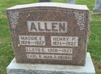 FUNK ALLEN, MAGGIE ELLEN - Gentry County, Missouri | MAGGIE ELLEN FUNK ALLEN - Missouri Gravestone Photos