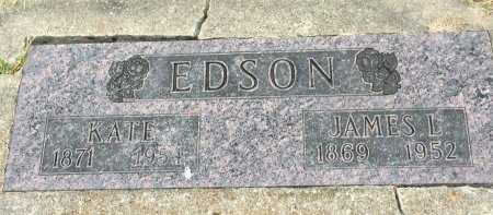 EDSON, JAMES LUCAS - Gentry County, Missouri   JAMES LUCAS EDSON - Missouri Gravestone Photos