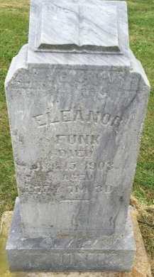 CLEMMONS FUNK, ELEANOR - Gentry County, Missouri | ELEANOR CLEMMONS FUNK - Missouri Gravestone Photos