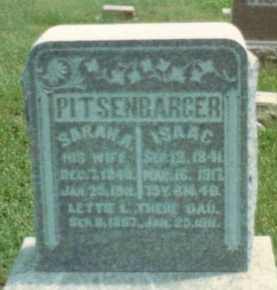 "PITTSENBARGER, LETTA LYDIA ""LETTIE"" - Gentry County, Missouri   LETTA LYDIA ""LETTIE"" PITTSENBARGER - Missouri Gravestone Photos"