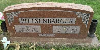 "PITTSENBARGER, CLIFTON FRANK ""FRANK"" - Gentry County, Missouri | CLIFTON FRANK ""FRANK"" PITTSENBARGER - Missouri Gravestone Photos"