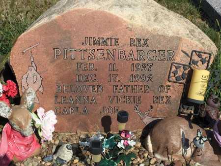 "PITTSENBARGER, JAMES REX ""JIMMIE"" - Gentry County, Missouri | JAMES REX ""JIMMIE"" PITTSENBARGER - Missouri Gravestone Photos"