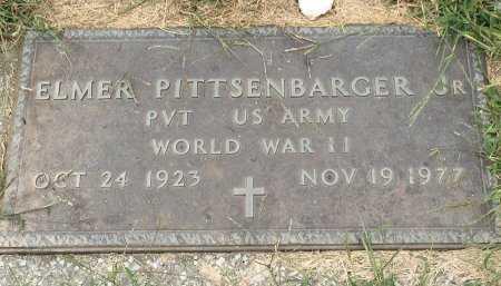 """PITTSENBARGER, ELMER, JR """"JUNIOR"""" VETERAN - Gentry County, Missouri   ELMER, JR """"JUNIOR"""" VETERAN PITTSENBARGER - Missouri Gravestone Photos"""