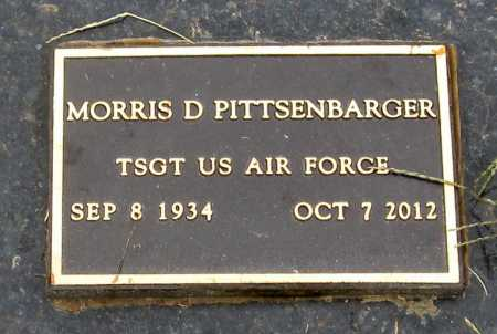 "PITTSENBARGER, MORRIS DON ""DONNIE"" VETERAN - Gentry County, Missouri   MORRIS DON ""DONNIE"" VETERAN PITTSENBARGER - Missouri Gravestone Photos"
