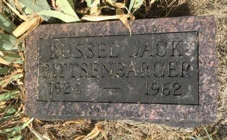 PITTSENBARGER, RUSSEL JACK - Gentry County, Missouri | RUSSEL JACK PITTSENBARGER - Missouri Gravestone Photos