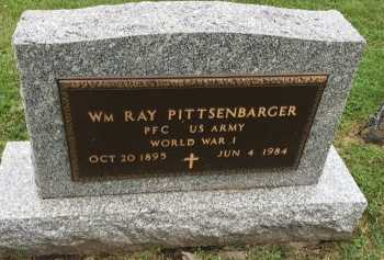 PITTSENBARGER, WILLIAM RAY (VETERAN WORLD WAR I) - Gentry County, Missouri   WILLIAM RAY (VETERAN WORLD WAR I) PITTSENBARGER - Missouri Gravestone Photos