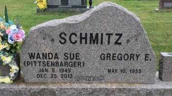 PITTSENBARGER SCHMITZ, WANDA SUE - Gentry County, Missouri | WANDA SUE PITTSENBARGER SCHMITZ - Missouri Gravestone Photos