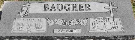 BAUGHER, THELMA M - Greene County, Missouri | THELMA M BAUGHER - Missouri Gravestone Photos