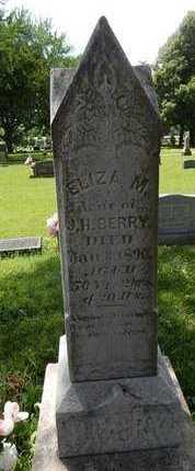 BERRY, ELIZA M - Greene County, Missouri   ELIZA M BERRY - Missouri Gravestone Photos