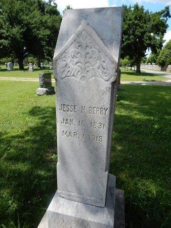 BERRY, JESSE H - Greene County, Missouri | JESSE H BERRY - Missouri Gravestone Photos