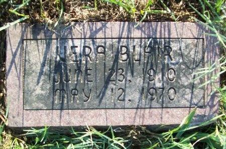 FIELDS BLAIR, VERA E. - Greene County, Missouri | VERA E. FIELDS BLAIR - Missouri Gravestone Photos