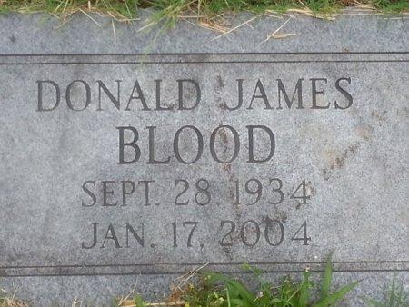 BLOOD, DONALD JAMES - Greene County, Missouri | DONALD JAMES BLOOD - Missouri Gravestone Photos