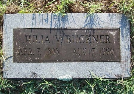 PERKINS BUCKNER, JULIA VIRGINIA - Greene County, Missouri | JULIA VIRGINIA PERKINS BUCKNER - Missouri Gravestone Photos