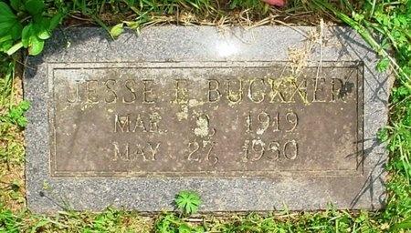 BUCKNER, JESSE EDWARD - Greene County, Missouri | JESSE EDWARD BUCKNER - Missouri Gravestone Photos