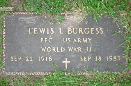 BURGESS, LEWIS LEE (VETERAN WWII) - Greene County, Missouri | LEWIS LEE (VETERAN WWII) BURGESS - Missouri Gravestone Photos