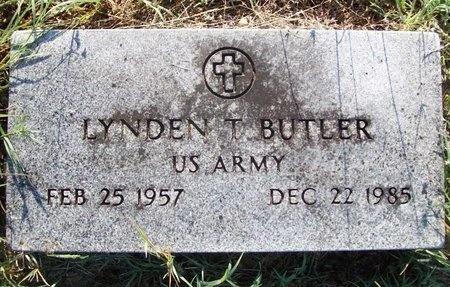 BUTLER, LYNDEN T (VETERAN) - Greene County, Missouri | LYNDEN T (VETERAN) BUTLER - Missouri Gravestone Photos