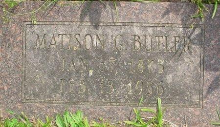 BUTLER, MATISON GARRETT - Greene County, Missouri | MATISON GARRETT BUTLER - Missouri Gravestone Photos