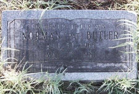 "BUTLER, NORMAN ""PAT"" - Greene County, Missouri | NORMAN ""PAT"" BUTLER - Missouri Gravestone Photos"