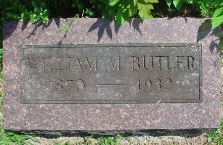 BUTLER, WILLIAM M. - Greene County, Missouri | WILLIAM M. BUTLER - Missouri Gravestone Photos