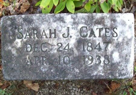 CATES, SARAH J. - Greene County, Missouri | SARAH J. CATES - Missouri Gravestone Photos