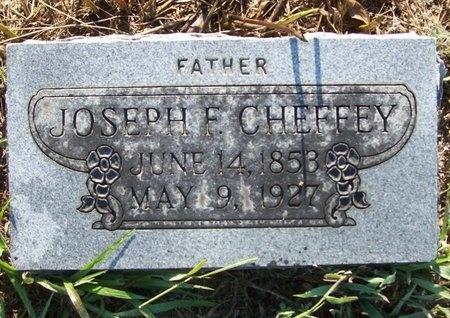CHEFFEY, JOSEPH F. - Greene County, Missouri | JOSEPH F. CHEFFEY - Missouri Gravestone Photos